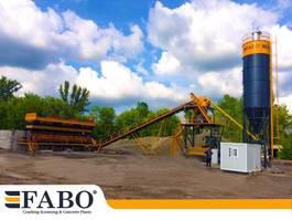 betonmixinstallatie FABO 75m3/h STATIONARY CONCRETE MIXING PLANT 2021