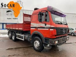 kipper vrachtwagen > 7.5 t Mercedes-Benz SK 2644 V8 6x2 Tipper truck (EPS Three Pedals) 1998