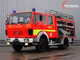 brandweerwagen vrachtwagen Mercedes-Benz SK 1019 4x4 - V6 - 4x4 feuerwehr - fire brigade - brandweer - water tank... 1983