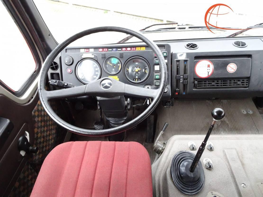 brandweerwagen vrachtwagen Mercedes-Benz SK 1019 4x4 - V6 - feuerwehr - fire brigade - brandweer - water tank 800... 1983