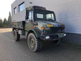 open laadbak vrachtwagen Unimog U 1300 1300L 435 1985