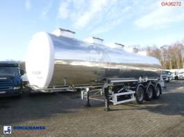 tankoplegger BSL T Chemical tank inox 33 m3 / 1 comp 2000