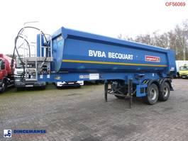kipper oplegger Langendorf Tipper trailer steel 22 m3 2002