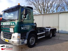 containersysteem vrachtwagen Ginaf X 3232 S X3232S 6x4 Manual Kettingsysteem 2002