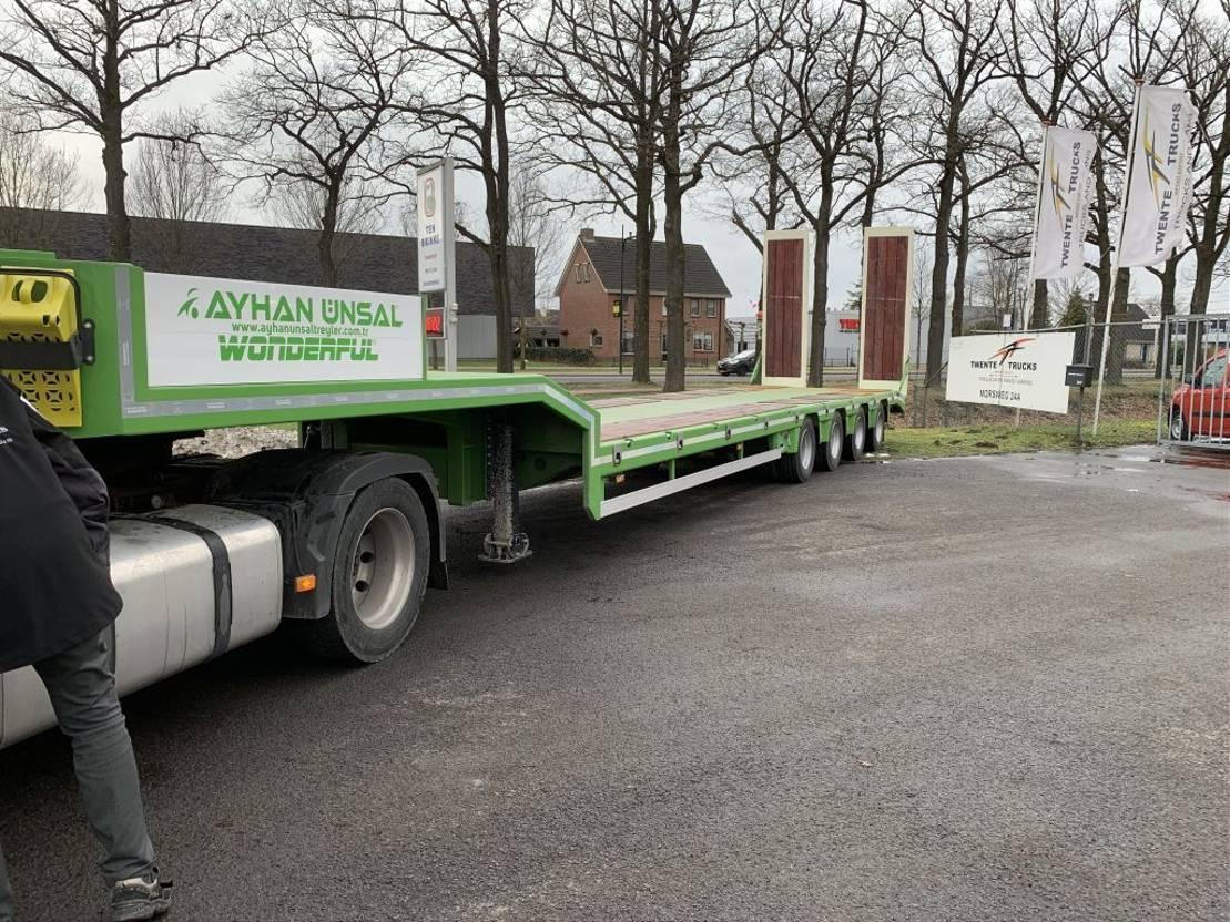 semi dieplader oplegger Scorpion Ayhan Ünsal 4 as semi low boy dieplader trailer 69 ton 2021