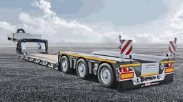 semi dieplader oplegger Faymonville Maxtrailer 3-Achs-Tiefbett mit Pendelachsen