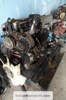 Motor vrachtwagen onderdeel Nissan B6.60 Turbo 6 cylinder engine and ZF manual gearbox. 2000