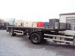 open laadbak oplegger Schmitz Cargobull 1 achs Plateau Langeisen luft zwilling BPW 2015