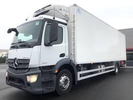 koelwagen vrachtwagen Mercedes-Benz ANTOS 1824L-DIEPVRIESKOFFER-FRC-ATP-EU6-LAADKLEP-111.138KM!!! 2016