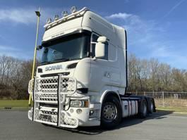 gevaarlijke stoffen trekker Scania R560-V8 6x2 Topline V8 Retarder Boogie ADR approved low KM 2013
