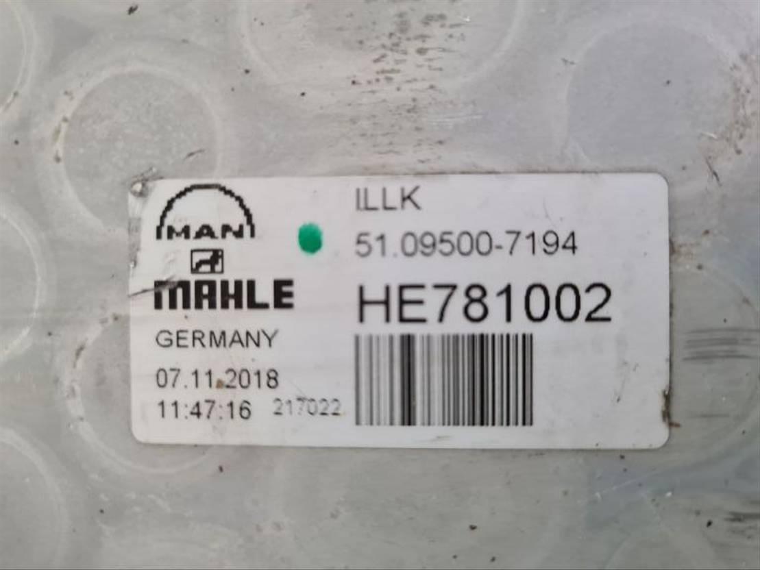 Intercooler vrachtwagen onderdeel MAN TGX INTERCOOLER EURO 6 51.09500-7194