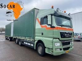 open laadbak vrachtwagen MAN TGX 26 6X2 Combination (+ GS MEPPEL trailer) for -> Pluimvee/Geflügel /Chicken transport 2011