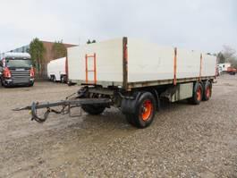 platte aanhanger vrachtwagen Dapa 24 T. 3 axle 2009