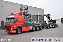 containersysteem vrachtwagen Volvo FM 500 8x2   EURO6 * 2 x 20ft TIPPING COMBI * 3 x STEERING 2014