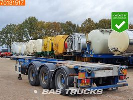 container chassis oplegger LAG 0-3-39 02 3 axles ADR 1x 20 ft 1x30 ft 2004
