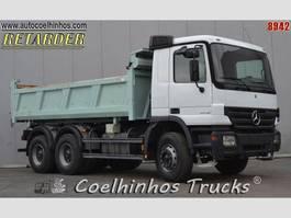 kipper vrachtwagen > 7.5 t Mercedes-Benz 2005