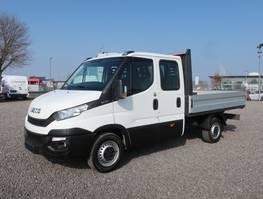 huifzeil vrachtwagen Iveco 35 S 14 Doka AHK Klima 7-Sitzer 2019