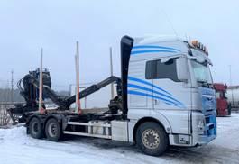houttransporter vrachtwagen MAN TGX 26.560 Euro 6, Timber-truck with Epsilon M110L80, 2015 *Expected* 2015