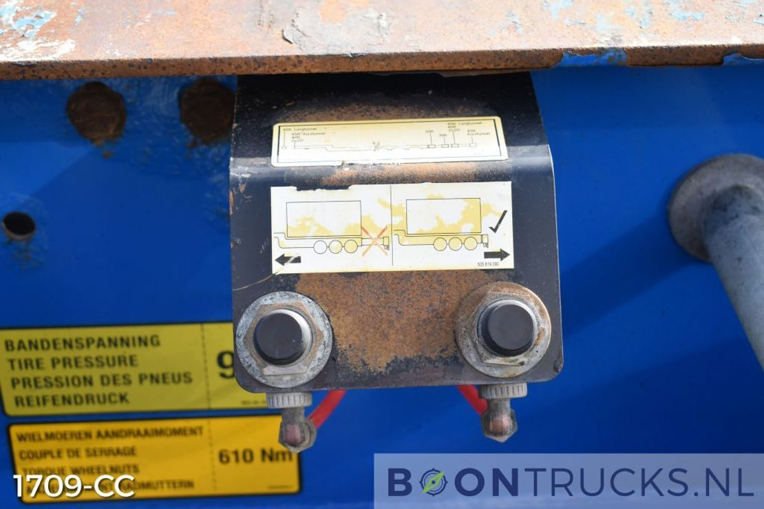container chassis oplegger Krone SD | 2x20-30-40-45ft HC * AUSZIEBAHRES HECK/KOPF 2008