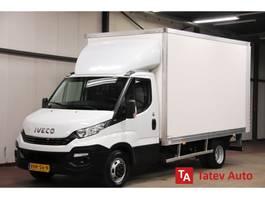 gesloten bestelwagen Iveco Daily 35C16 160PK BAKWAGEN LAADKLEP AUTOMAAT MEUBELBAK AIRCO CRUISE CONTROL 2018