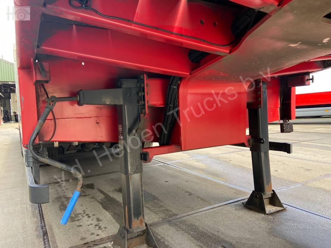 semi dieplader oplegger Max Trailer | Hydraulic Ramps | 4 Axles | 3 Steering Axles 2015