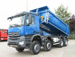 overige vrachtwagens Mercedes-Benz Arocs 4142 8x6 4 Achs Muldenkipper Grounder 2015