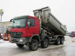 overige vrachtwagens Mercedes-Benz Actros 4144 AK 8x8 4 Achs Muldenkipper Meiller 2008