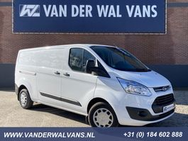 gesloten bestelwagen Ford Transit Custom 2.2TDCI 125pk L2H1 Trend Airco, cruisecontrol, 3-zits 2016
