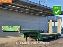 dieplader oplegger Gheysen en Verpoort S2VB 2 axles Steelsuspension Lenkachse 2017