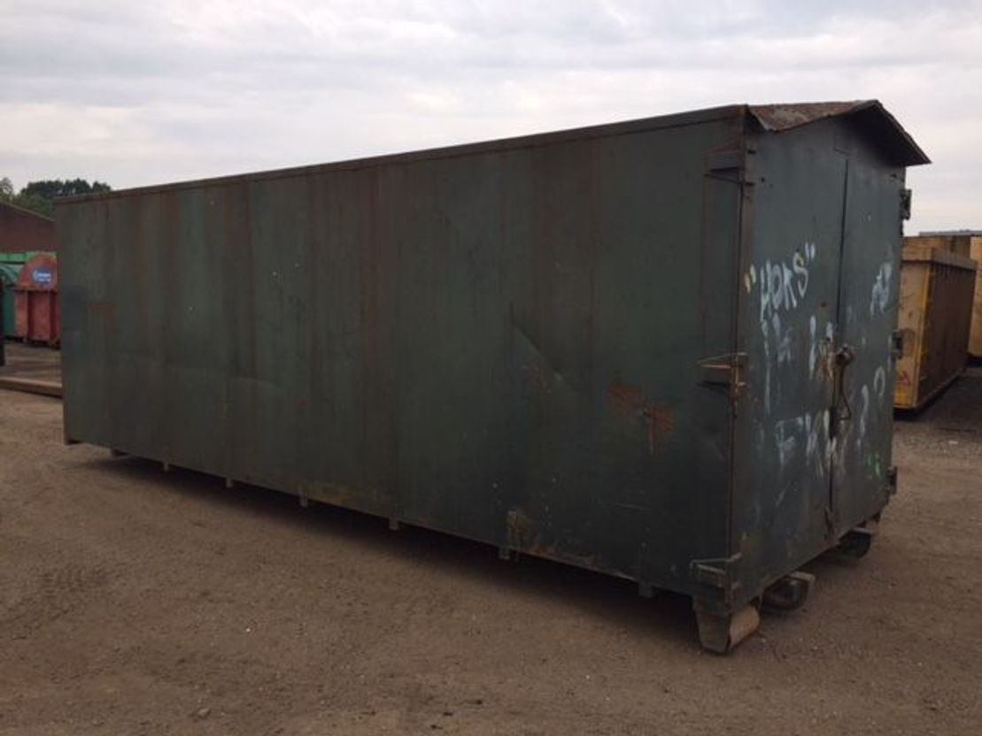 dry standaard zeecontainer All-in Magazijncontainer
