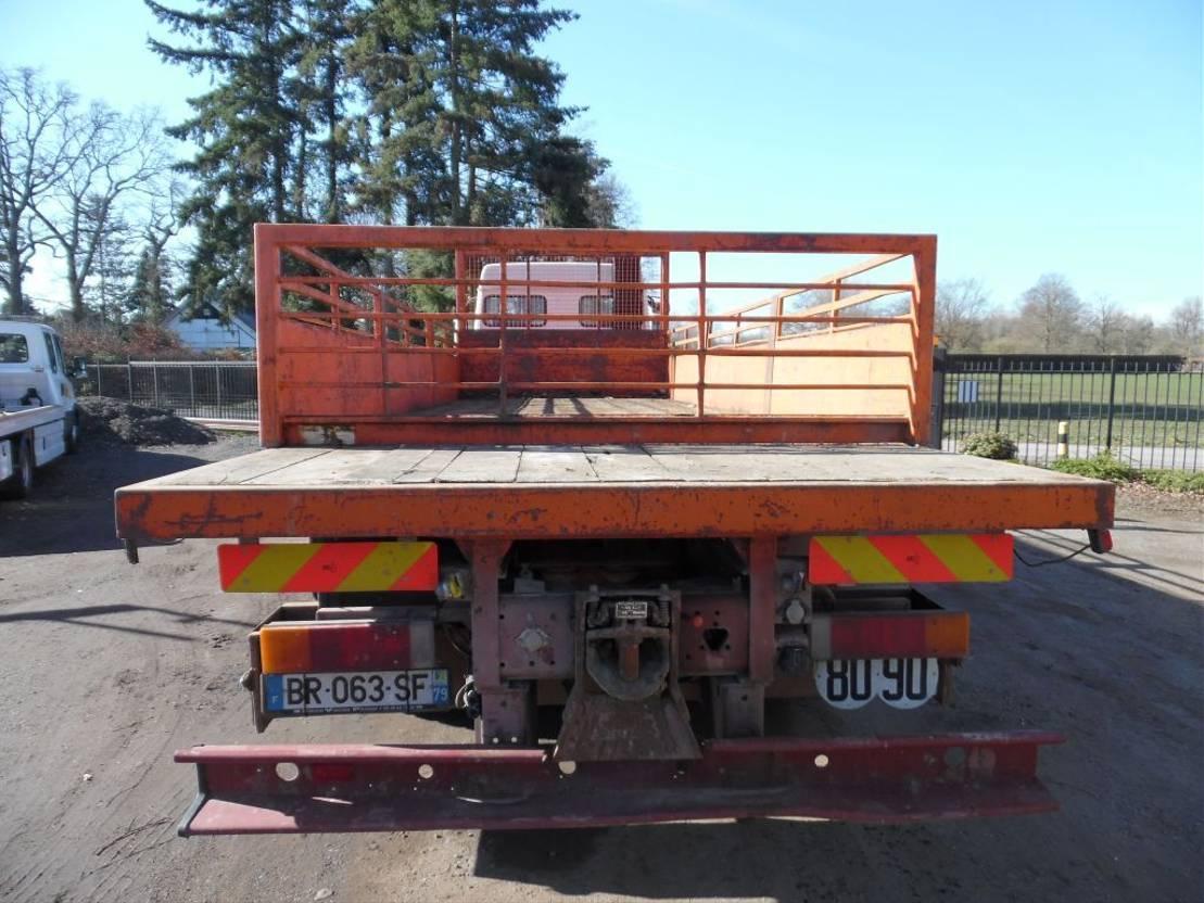 bakwagen vrachtwagen Renault G340 Manager open bak met zijborden   6x4 1994