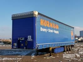 mega-volume oplegger Schmitz Cargobull Semitrailer Curtainsider Mega 2015