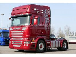 overige vrachtwagens Scania R 730 Topline Retarder Hydraulik Alufelgen Euro6 2014