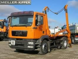 containersysteem vrachtwagen MAN TGM 15 4x2 Absetzkipper Meiller Tele +hydr 2011