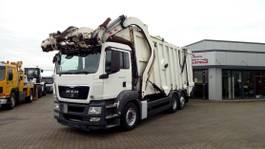 vuilniswagen vrachtwagen MAN TGS 26.320 / 6x2 /BL/Faun/Kamera/Klima/Euro5 2010