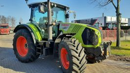standaard tractor landbouw Claas Arion 650 Cebis with frontlift / PTO, Airbrakes 2013