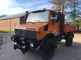 open laadbak vrachtwagen Unimog u1450l LA 1999