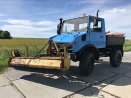 open laadbak vrachtwagen Unimog 1978