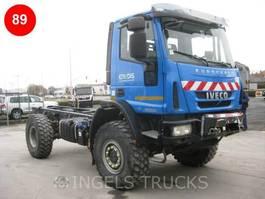 bakwagen vrachtwagen Iveco ML150E25   4X4 kort 2017