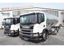 tankwagen vrachtwagen Scania P410 , E6 , 6X2 , 20.000km ! ! ! , 2 units , steer/lift axle , 1 2019