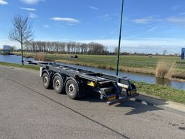 container chassis oplegger Renders 3-Axle 20/30 FT Tank Chassis / BPW / Discbrakes / APK 2019