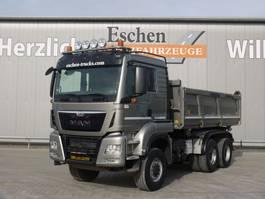 kipper vrachtwagen > 7.5 t MAN TGS 26.480 6x6 3 Seitenkipper 2015