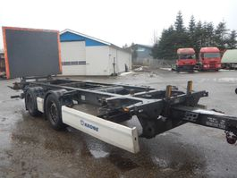 container chassis oplegger Krone veksellads kærre 2014