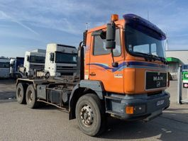 containersysteem vrachtwagen MAN 27.403  steel suspension 1998