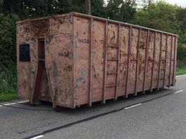 overige containers Container 40m3 container bak containerbak 40 kuub