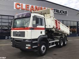 kipper vrachtwagen > 7.5 t MAN TGA 33.363 6x4 Meiller Manual Full steel 2003