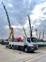 kraanwagen Renault Lander 430 DXI - 6x4 + CRANE (36Tm) COPMA 360.6 + JIB 4x - REACH 25.65m !!! BE TRUCK 2013