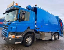 vuilniswagen vrachtwagen Scania P320 NTM 21.4m3 EURO6 Garbage Truck 2014
