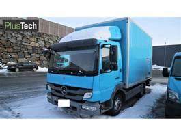 bakwagen vrachtwagen Mercedes-Benz 818 L 2011