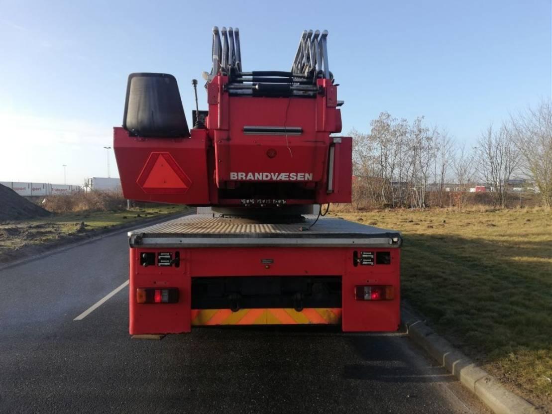 brandweerwagen vrachtwagen Magirus Deutz 256 M 12 F.